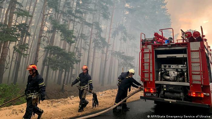 У липні цього року лісові пожежі також вирували у східних областях України