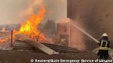 Ukraine Region Luhansk | Waldbrände