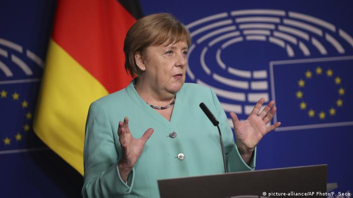 Angela Merkel na forum PE: Konieczna ochrona praw podstawowych