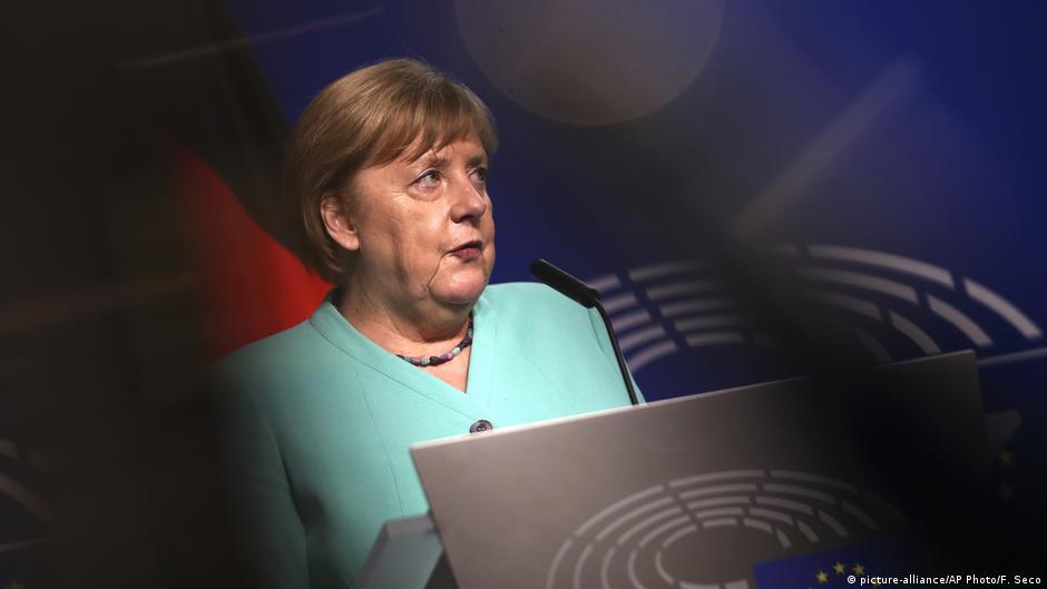 Merkeli bën një deklaratë të zjarrtë për Evropën