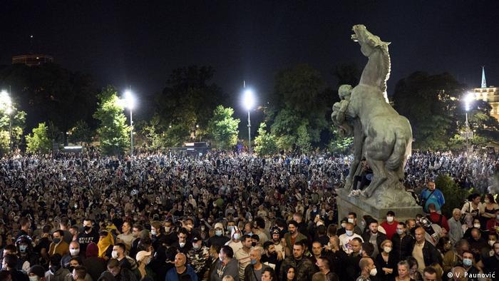Proteste in Serbien