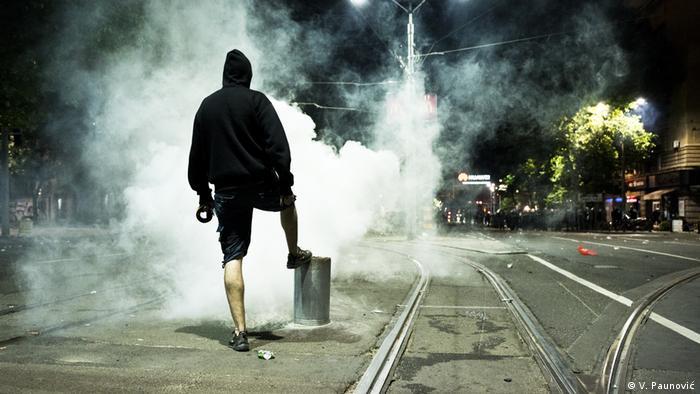 Suzavac na ulicama Beograda