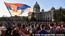 Serbien Coronavirus Proteste