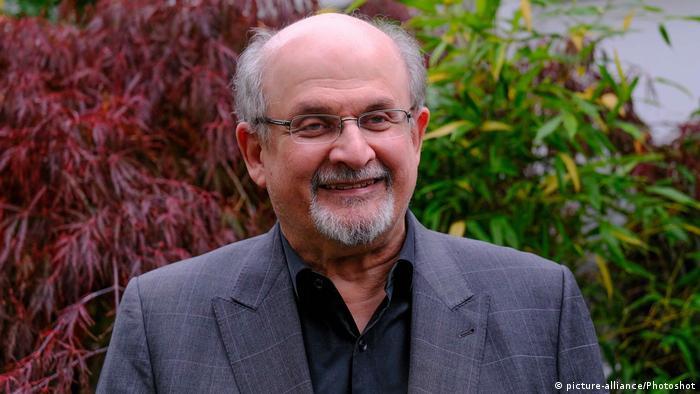 Indisch-britischer Schriftsteller Salman Rushdie
