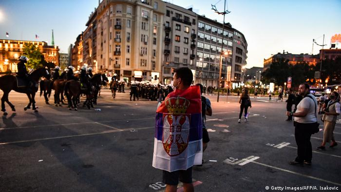 Protesti u srpnju u Beogradu, kada su na ulice izašli najrazličitiji protivnici vlasti