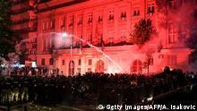 Serbien I Ausschreitungen in Belgrad
