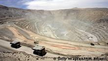 Chile I Codelco in Calama I Kupfertagebau