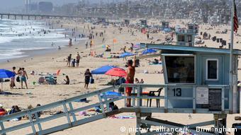 USA I Coronavirus I Hermosa Beach, California