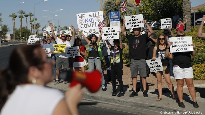 USA I Coronavirus I Henderson I Nevada (picture-alliance/AP/J. Locher)