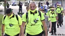 Bosnien und Herzegowina Schweigemarsch Gedenken an Massaker in Srebrenica