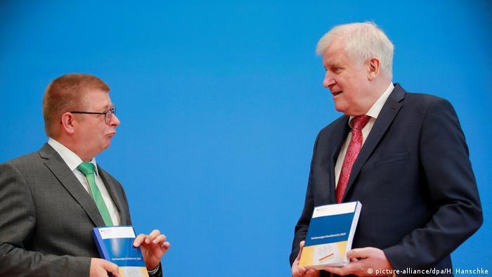 انتشار گزارش سالانه سازمان امنیت داخلی آلمان، برلین نهم ژوئیه ۲۰۲۰