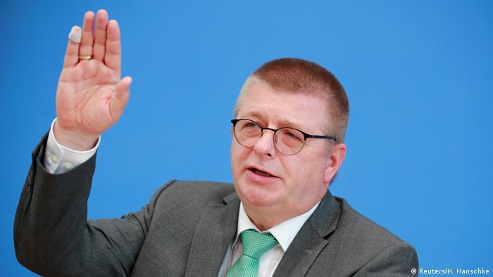 Der Präsident des Bundesamtes für Verfassungsschutz, Thomas Haldenwang