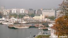 Hafen von Oslo , Panoramabild, aufgenommen im Oktober 2015 in Oslo und in Son (Norwegen)