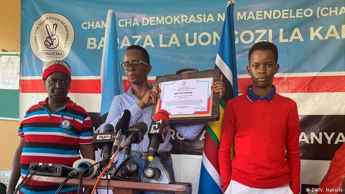 Tansania Wahlen CHADEMA Partei