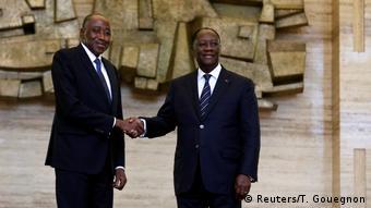 Alassane Ouattara avait dû changer de Premier ministre après la mort d'Amadou Gon Coulibaly