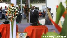 02.07.2020 *** Ivory Coast Defence Minister Hamed Bakayoko attends a national tribute ceremony for dead soldiers, in Abidjan, Ivory Coast, July 2, 2020. REUTERS/Thierry Gouegnon