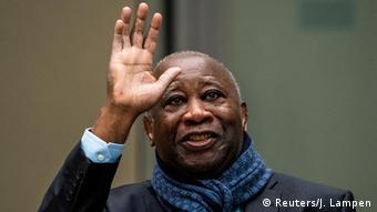 Laurent Gbagbo ici à La Haye où il est jugé pour des faits commis en Côte d'Ivoire durant la crise électorale de 2010-2011