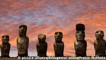 Ecuador Osterinseln |Moai Statuen