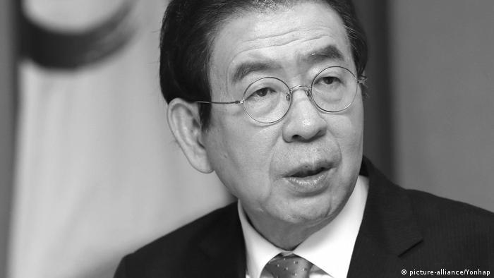 O prefeito de Seul, Park Won-soon
