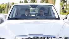 Turkmenistan I Dmitry Medvedev und Gurbanguly Berdimuhamedow