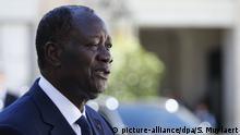 Elfenbeinküste I Präsident I Alassane Ouattara in Paris