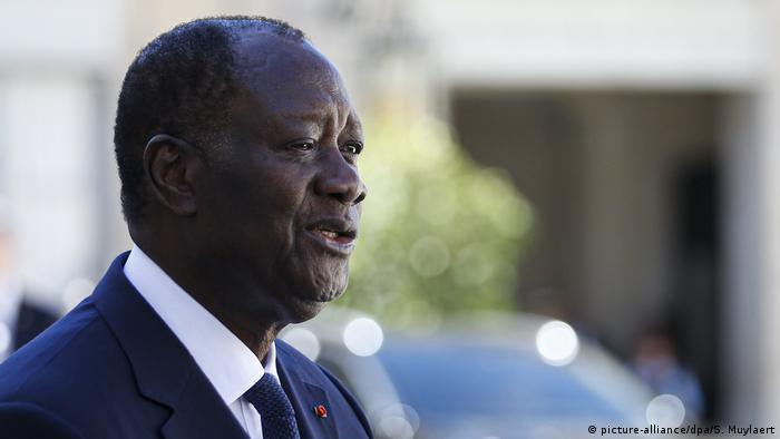 Rais Alassane Ouattara wa Cote d'Ivoire