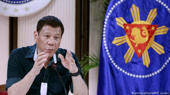 Philippinen I Präsident Rodrigo Duterte
