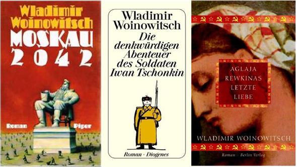 Немецкие издания книг Владимира Войновича