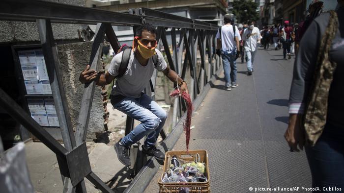 Venezuela Caracas Markt lockdown Coronakrise