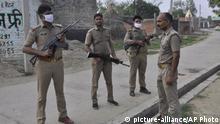 Indien Kanpur Angriff auf Polizisten