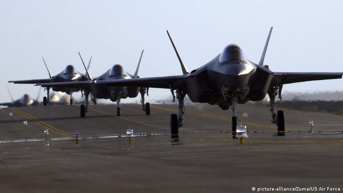 U.S. Air Force F-35A Lightning II (picture-alliance/Zuma/US Air Force)
