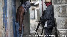 Symbolbild Haiti Gang-Mitglieder