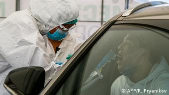 Тестирование медработников в Казахстане