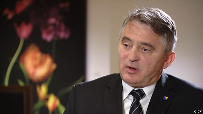 Berlin | Zeljko Komsic - Mitglied des Präsidiums Bosnien und Herzegowinas im DW-Gespräch