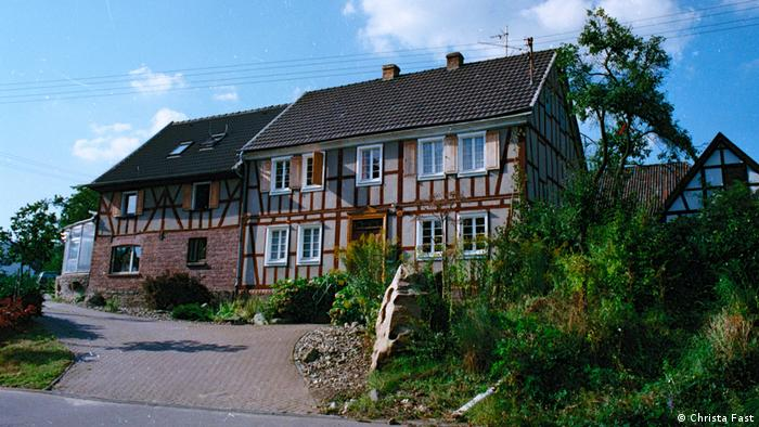 Old German half-timbered house (Christa Fast)