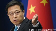 China Sprecher des Aussenministeriums Zhao