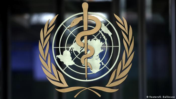Logo of the World Health Organization