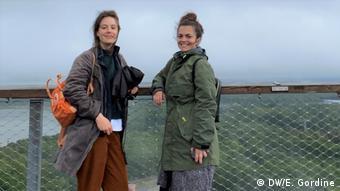 Deutschland Rügen |Emily Gordine & Olivera Zivkovic auf Baumwipfelpfad