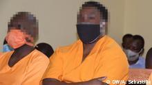 Sandura Ambrósio Thema: Prozess wegen Verschwörung gegen den Staat Mosambik Ort:Dondo/Mosambik Datum:10.07.2020 Autor: Arcénio Sebastião (Korrespondent)