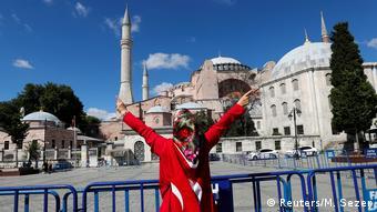 Πανηγυρισμοί για την μετατροπή της Αγίας Σοφίας σε τζαμί