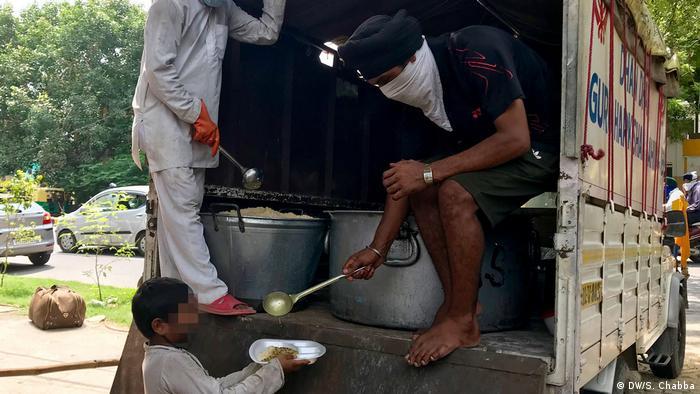 Indien Neu Delhi | Coronavirus | Essensversorgung