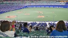 Japan Baseball|Fans dürfen in die Stadien