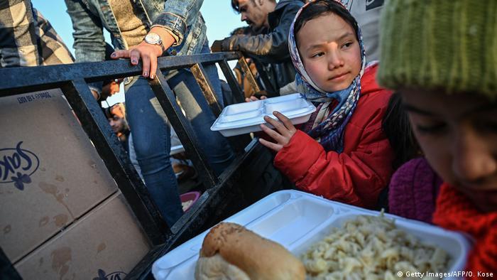 Türkei Edirne | Flüchtlinge |Essensausgabe
