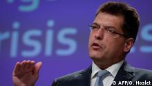 EU-Kommissar für Krisenmanagement Janez Lenarcic
