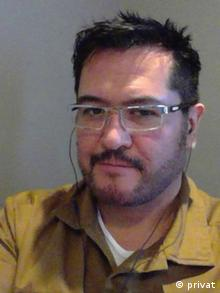 Carlos Enrique Ibarra, doctoral student at the University of New Mexico (privat)