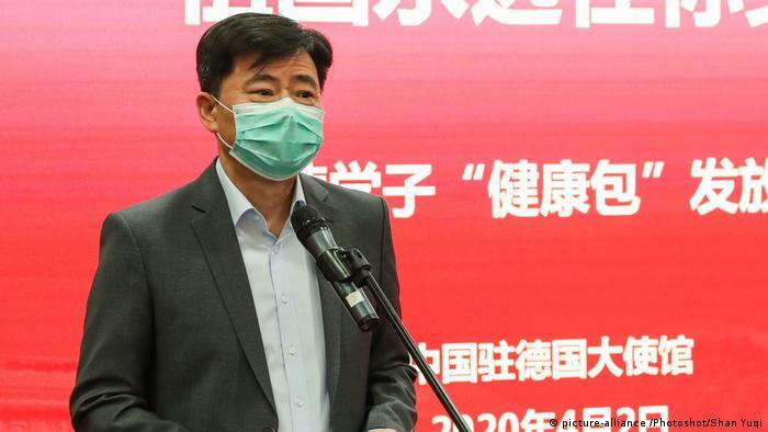 中国驻德大使吴恳在接受《经济周刊》采访时说,中方早已向联合国人权高专发出邀请,双方正就此保持沟通。