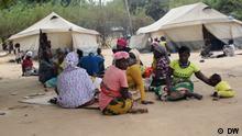 Mosambik Flüchtlinge vor Angriffen in Cabo Delgado in Metuge untergebracht