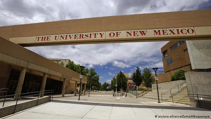 The campus of the University of New Mexico (picture-alliance/Zuma/Albuquerque)