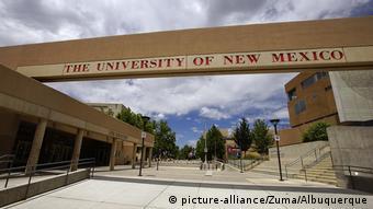 USA New Mexiko UNM Campus