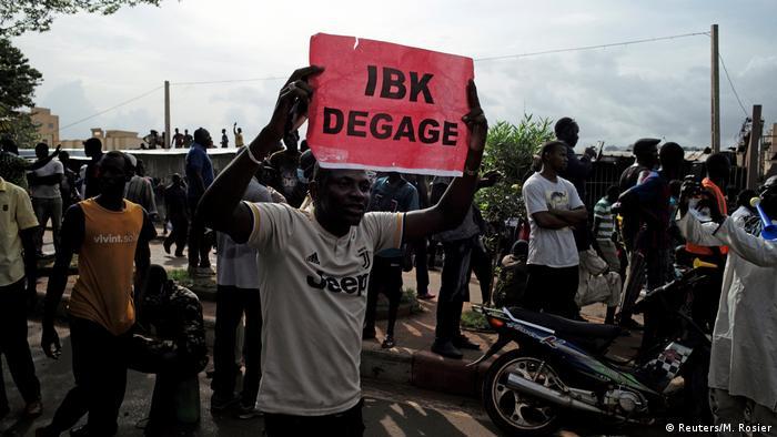 Mali Bamako Anti Regierungsproteste